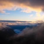 Smukt morgenlys i Kaskar bjergene i det nordøstlige Tyrkiet
