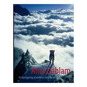 Forsiden til den nye udgave af Ama Dablam bogen