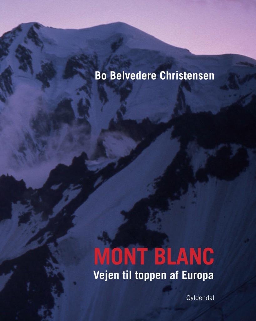 Forsiden til min bog om Mont Blanc