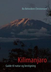 Forsiden af min bog Kilimanjaro - guide til natur og bestigning