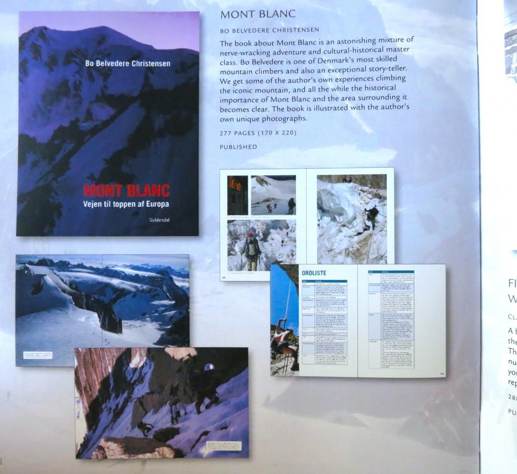 Anmeldelse af Mont Blanc - vejen til toppen af Europa i magasinet Luksus #83