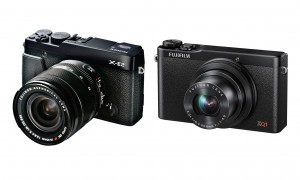 Fujifilm X-E2 og XQ1 kameraerne