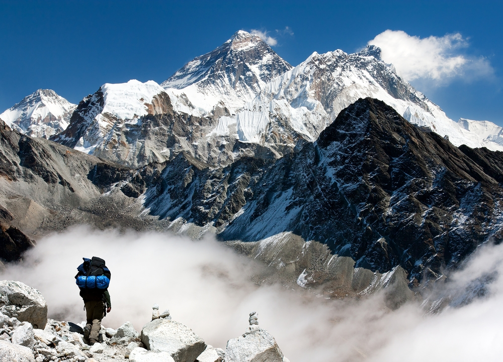 Udsigt mod Everest